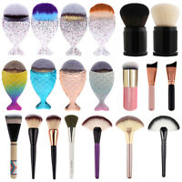New Makeup Cosmetic Kabuki Contour Powder Blusher Blush Foundation Brush Tool