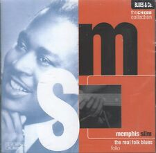 The Chess Collection: The Real Folk Blues by Memphis Slim (CD, 1997 Folio) New!