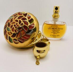 "Guerlain Les Meteorites ""SAMSARA"", Parfum 15ml, emailiert, Vintage -Rarität-"
