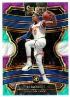R.J. RJ BARRETT 2019-20 Panini Select Tri Color Prizm Concourse Rookie Card RC