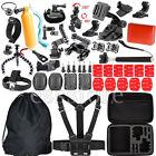 Head Chest Strap Monopod Sticker Accessories Kits For GoPro Hero 1 2 3+ 4 Camera