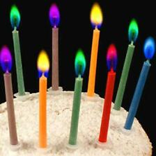 Birthday Cake Candles Happy Birthday Candles Colorful Candles Holders Included