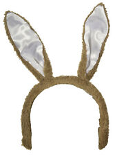 Easter Accessory - Light Brown Posable Bunny Rabbit Ears Headband