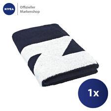 NIVEA Badetuch Blau 78cm x 180cm Handtuch 100% Baumwolle sanft schnelltrocknend