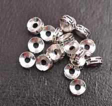 Tibetan Silver/Gold/Bronze Rings Spacer Beads Jewelry Findings 50/100Pcs A3116