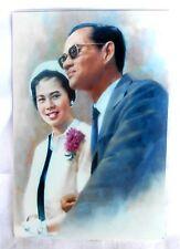 Bild picture König King Bhumibol Adulyadej RAMA IX Thailand 15x10 cm  (s12