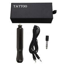 Vertical Motor Rotary Tattoo Machine Gun Aluminum Filter Pen + Cartridge Neddle