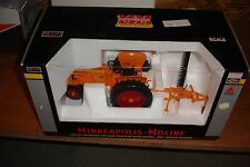 1/16 Minneapolis Moline 445 Gas Tractor with Mower   - mint, new in the box