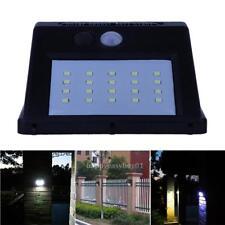 20 LED Solar Power PIR Motion Sensor Wall Light Outdoor Garden Waterproof Lamp