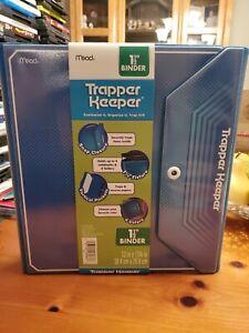 Retro Mead Trapper Keeper Blue NEW