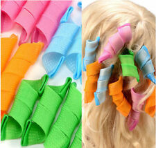 18 Pcs Hair Rollers Hot DIY Curlers Large Magic Circle Spiral Styling Tools 25CM
