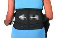 Mueller 255 Lumbar Support Back Brace Removable Pad Black Regular28  50 waist