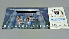 GUND ARENA Cleveland Inaugural Season Opening Night TICKET 11/8/94 plexi Holder