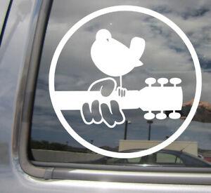 Woodstock - Peace & Music Car Auto Window High Quality Vinyl Decal Sticker 10121
