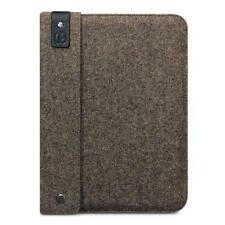 Berkeley Hopsack Brown Tweed & Leather Sleeve Carry Case for Apple iPad 2/3/4