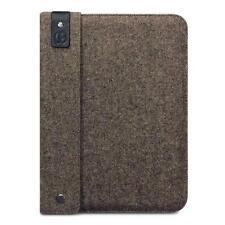 Berkeley Hopsack Brown Tweed & Leather Sleeve Carry Case for Apple iPad 2/3/4