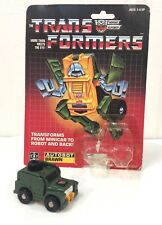 Brawn EARLY TAKARA 1984 Vintage Hasbro G1 Transformers Never Played With