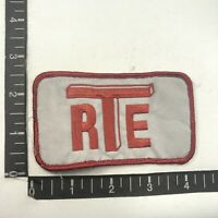 RTE R T E Company Advertising Patch S05B