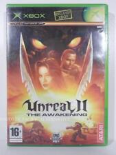 SANS NOTICE - jeu UNREAL II THE AWAKENING pour XBOX (first gen) en francais