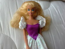 1989 My First Barbie Doll Blonde Prettiest Princess Ever! 80s dressed great