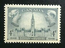 Canada #277 MNH, Responsible Government - Parliament Buildings Stamp 1948