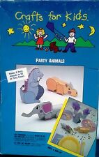 Crafts For Kids, Party Animal Party Favors   Set of 6