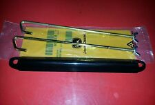 NEW JOHN DEERE 425 445 BATTERY BRACKET WITH ORIGINAL WING NUTS