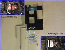 2011-14 Polaris RZR Battery Tray fit RZR, RZR-S, RZR-S, RZR800 hold Optima 11255