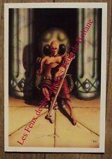 Carte postale Le roi sorcier ,Eric Bardot  numeroté 1000 ex.  CPSM