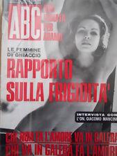 ABC rivista erotico politica n°19 1970  [C55]