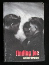 Finding Joe by Anthony Masters (Scholastic, 2000) Paperback