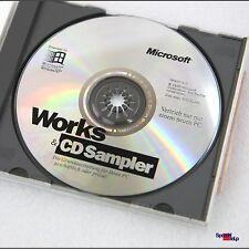 ORIGINAL MICROSOFT OEM CD MIT WORKS FÜR WIINDOWS 95 98 ID DE MS COMPACT DISC