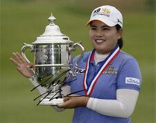 Inbee Park, South Korean golfer, LPGA Tour, signed 10x8 inch photo. COA.