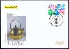 BRD 2018: Peter Behrens! Post-FDC der Nr. 3373 mit Berliner Sonderstempel! 2006