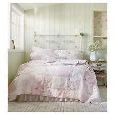 Rachel Ashwell Simply Shabby Chic Ditsy Pink Rose Patchwork Quilt Sham Set QUEEN