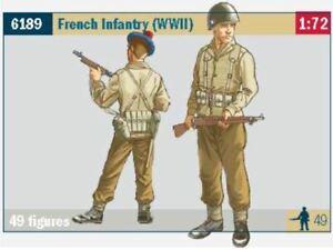 ITALERI 1/72 WWII FRENCH INFANTRY (49) 6189