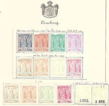 NORWAY LOCALS:  TONSBERG 1884 - 70204