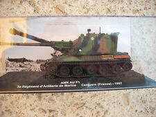 "DIE CAST TANK "" AMX AU F1 CANJUERS (FRANCE) - 1997 ""  SCALA 1/72"