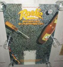 Blondie 1980 Promo Not for Sale Roadie Poster Meat Loaf Cheap Trick Pat Benatar