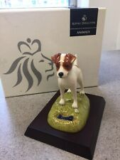 "Royal Doulton Dog Figurine ""Jack Russell"" Rda 4"