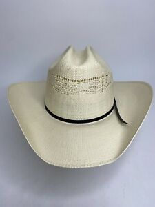 Men's Eddy Bros. Bangora 10X Rigid Canvas Cowboy Hat •Size 7 5/8 *NEW