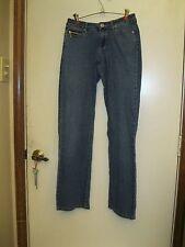 Ecko Red Eckored Jeans Stretch Denim Low Rise Size 7 Pink Rhino 5 Pocket