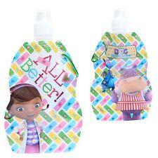 Disney/personaje plegable agua botella de la bebida con Mosquetón doctora juguetes