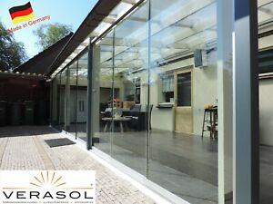 VERASOL Glasschiebewand / Glasschiebetür.  2000 x 2100 mm - Made in Germany