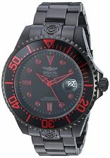 Invicta Men's 47mm Fire Red Black Grand Diver Automatic SS Watch-21870