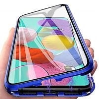 Coque pour Samsung Galaxy Note10 Lite Aluminium Magnetica 360° Verre Trempé 9H