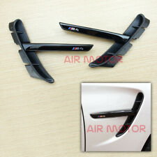 Side Fender Vent Air Duct Shiny Piano Black Fit BMW M4 F82 F83 2014~2020
