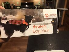 New listing Heated Dog Vest with 5V Rechargeable Dual Port Usb Battery - Waterproof