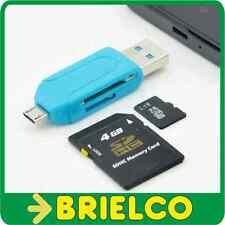 LECTOR DE TARJETAS MULTIFUNCION USB MICRO-SD SD MICRO-USB FUNCION OTG BD9333