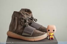 DS Adidas Yeezy Boost 750 Light Brown Chocolate sz 8.5 BY2456 700 350 500 kanye